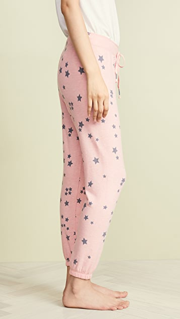 PJ Salvage Peachy Party Lounge Pants