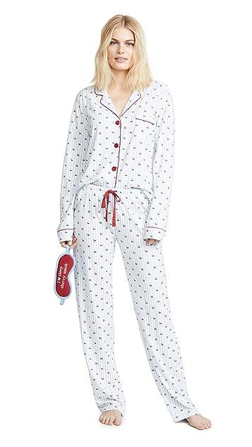 PJ Salvage 俏皮印花睡衣套装