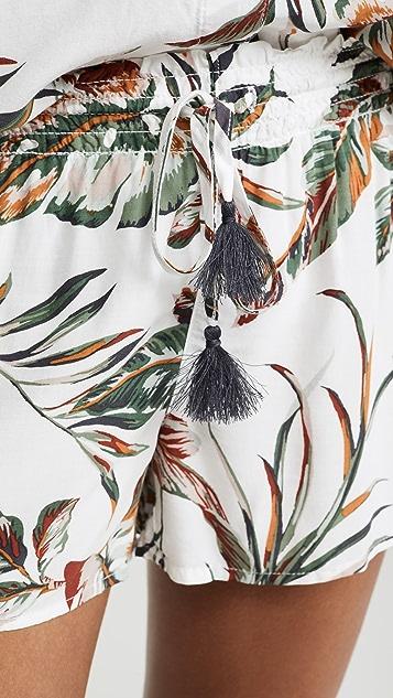 PJ Salvage Пижамные шорты Tahitian Tropics