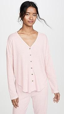 Button Up Sleep Shirt