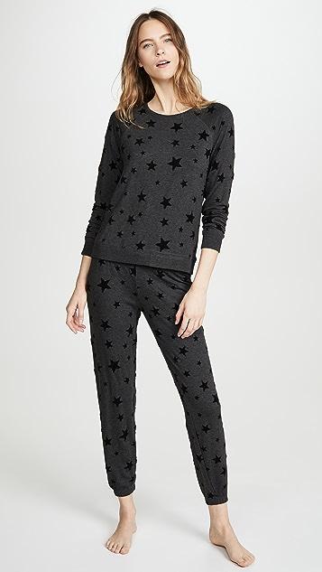PJ Salvage 夜空图案运动衫