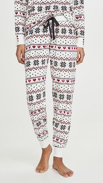 PJ Salvage Holiday Love Pants