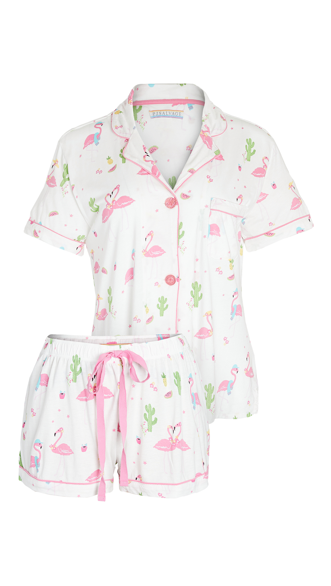 PJ Salvage Playful Print PJ Set