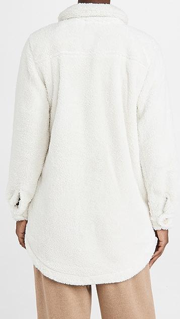 PJ Salvage Cozy Shirt Jacket