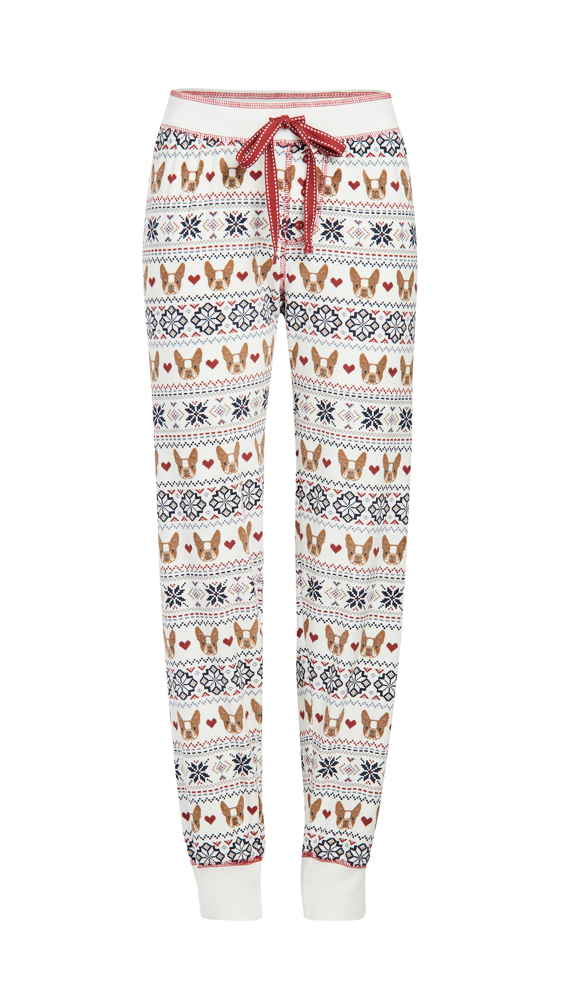 PJ Salvage Dog Mama Fair Isle Pants