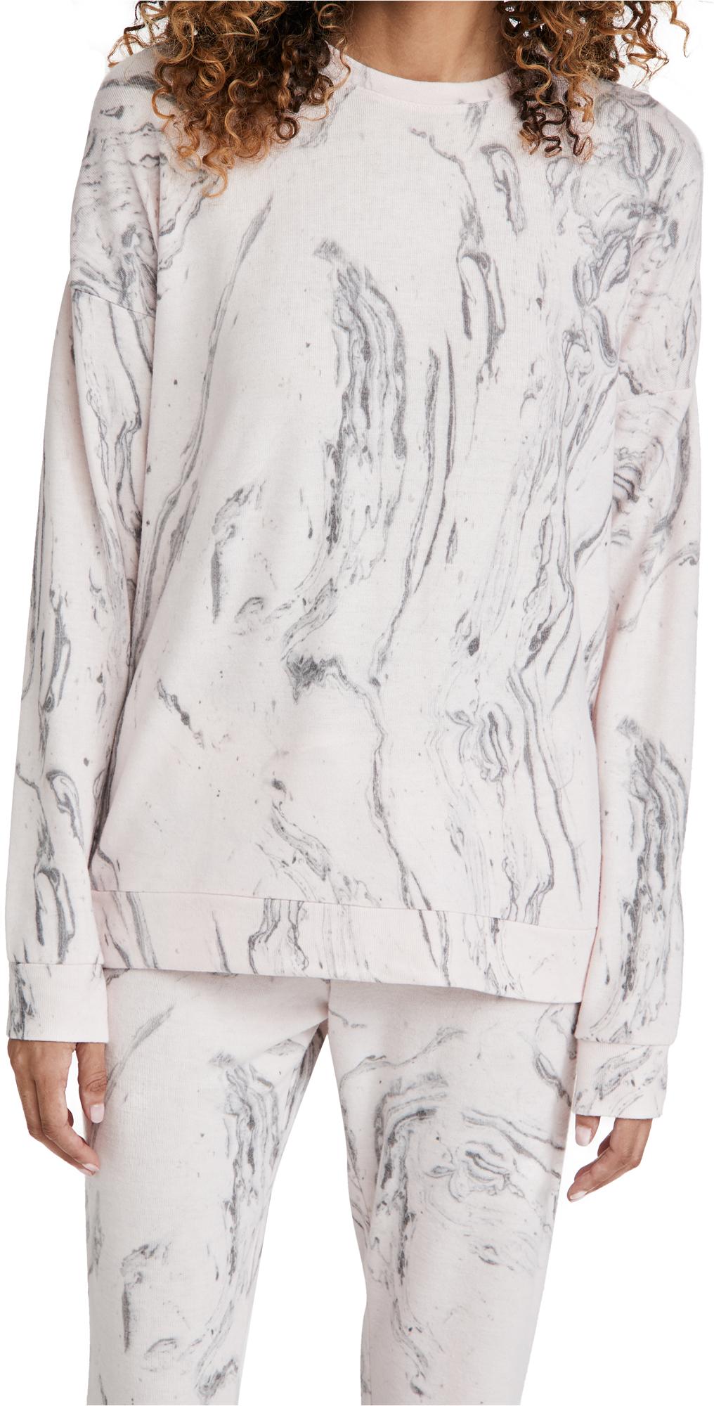 PJ Salvage Marble Long Sleeve Top