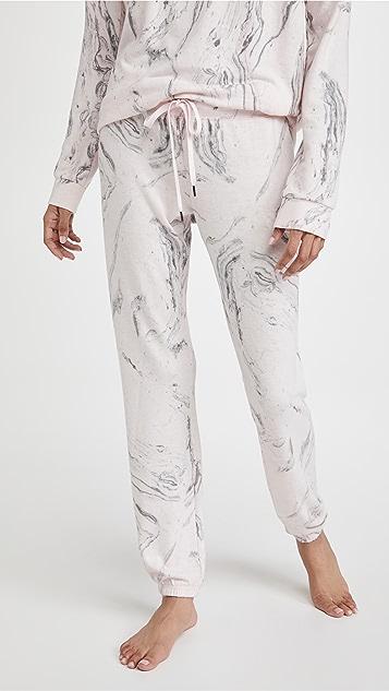 PJ Salvage Marble Band Pants