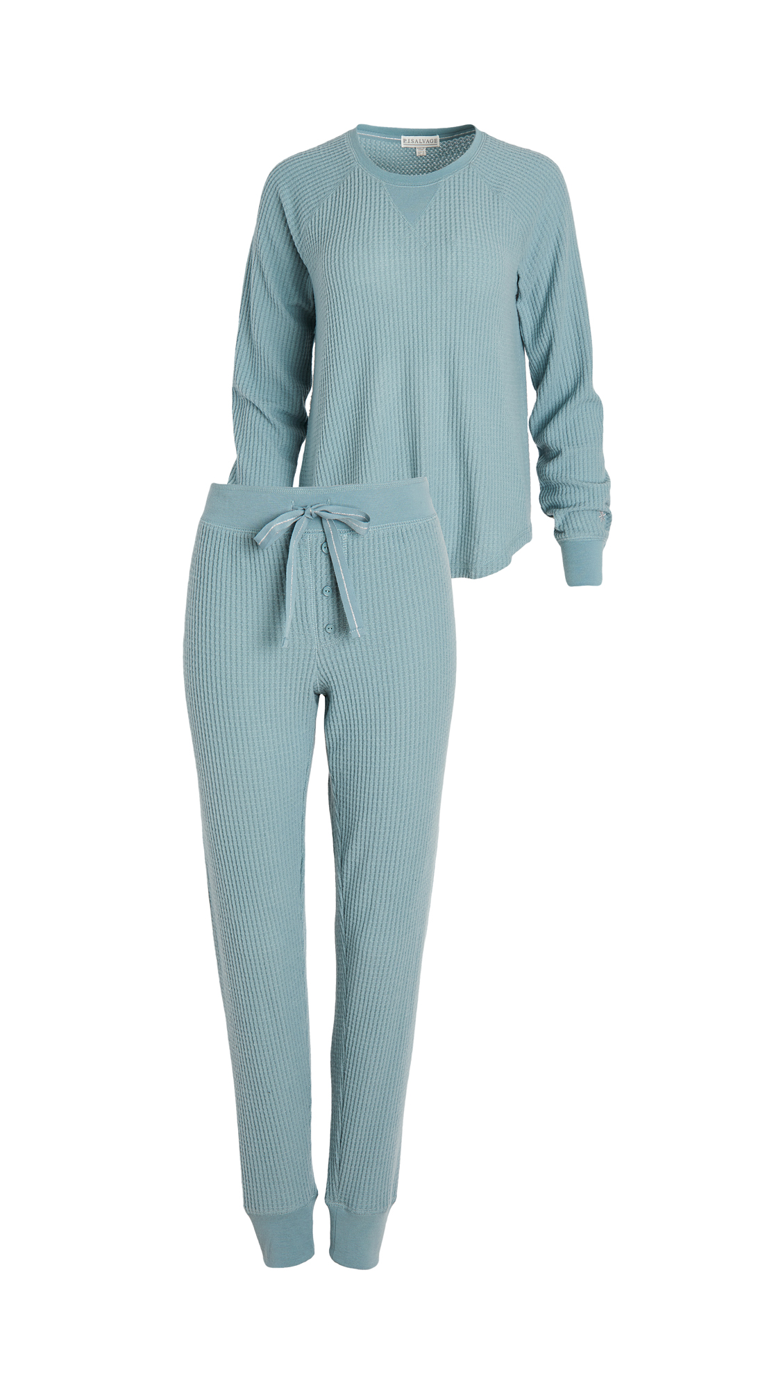 PJ Salvage Ski Jammie Set