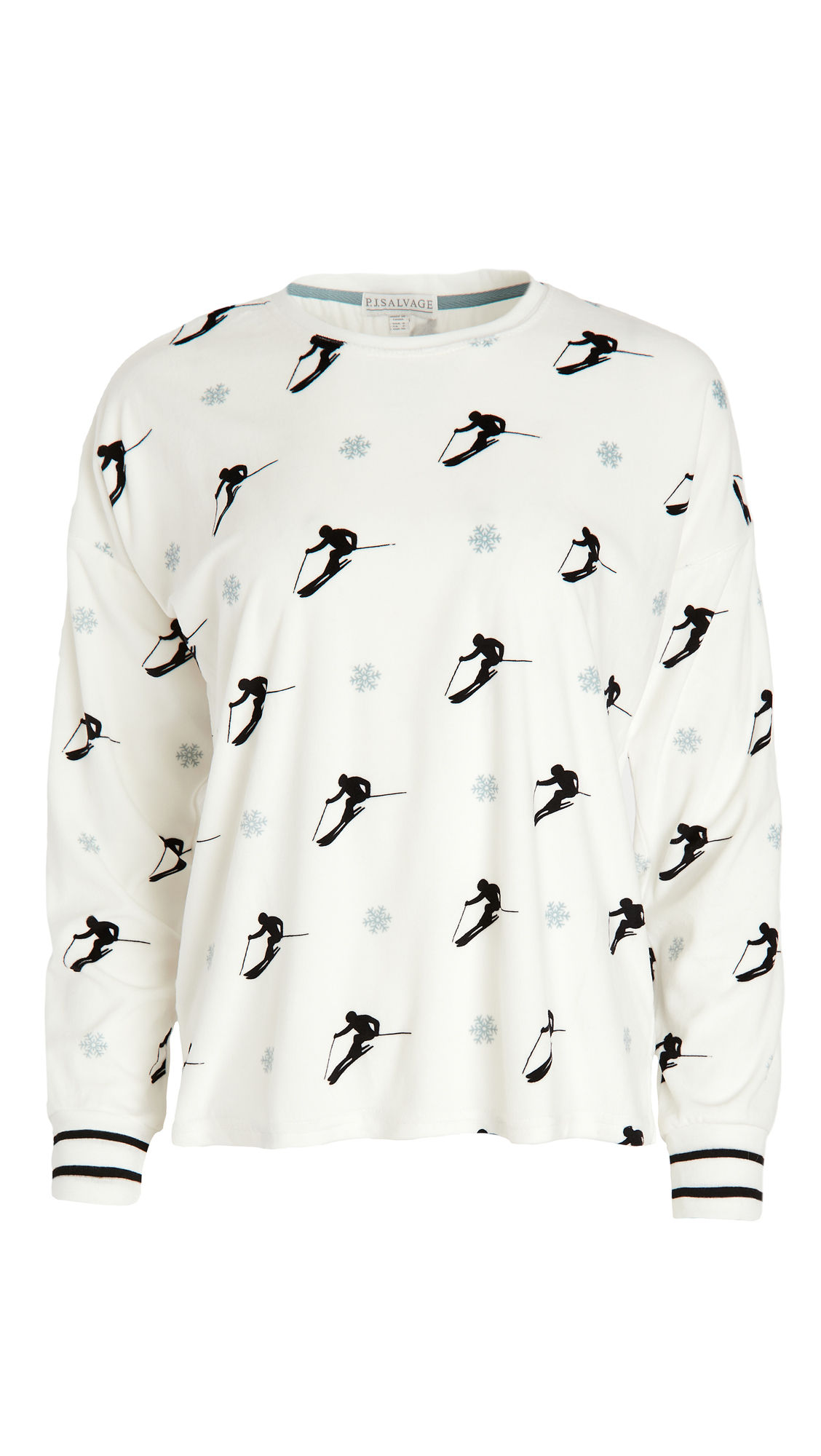 PJ Salvage Ski U Later Long Sleeve Top