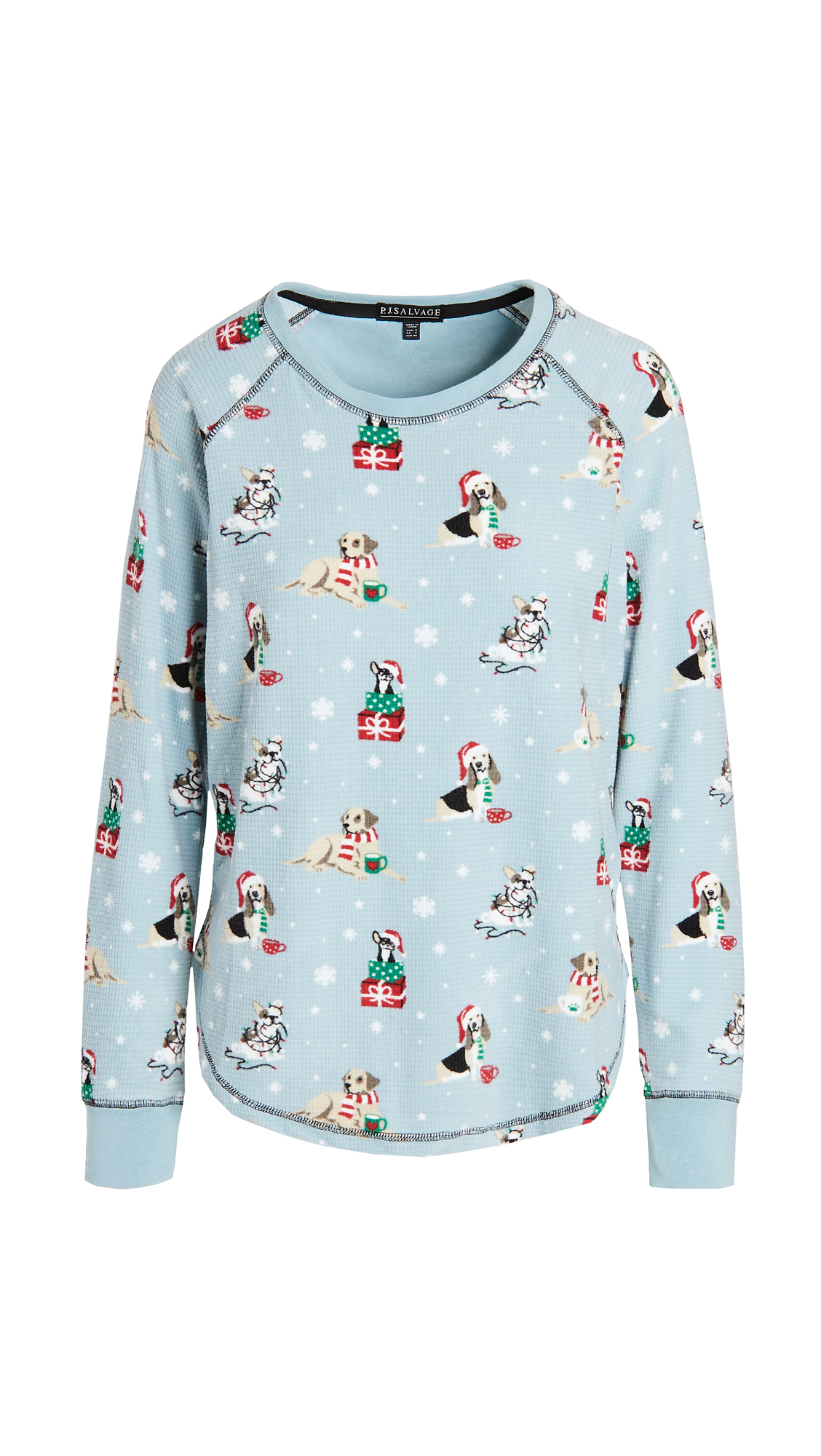PJ Salvage Howlidays Long Sleeve Top