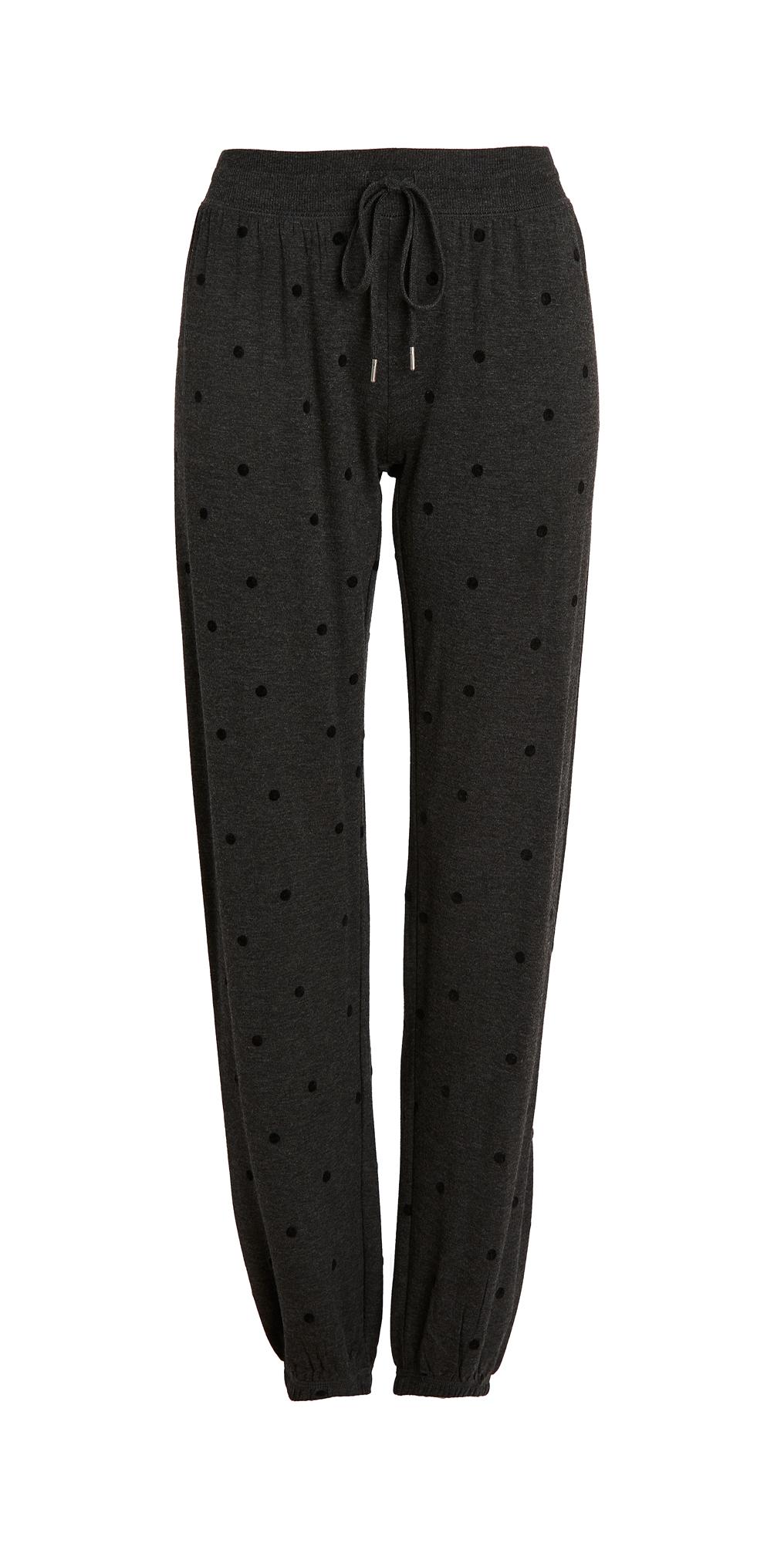PJ Salvage Snow Dot Band Pants