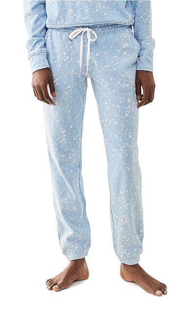 PJ Salvage Flick Of A Brush Band Pants