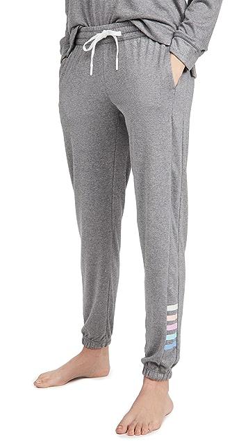 PJ Salvage 彩色经典束带长裤