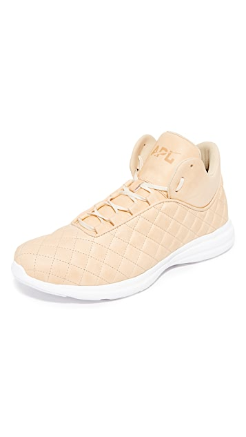 9f7d3e49e1c8 APL  Athletic Propulsion Labs Lusso Quilted Leather Running Sneakers ...