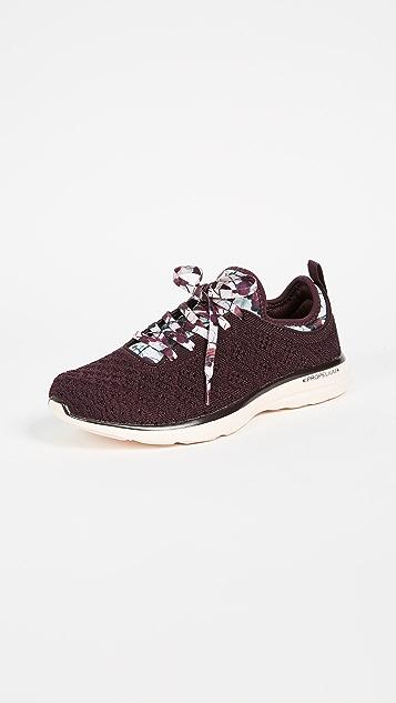APL: Athletic Propulsion Labs TechLoom Phantom Sneakers - Plum/Opaque Peach