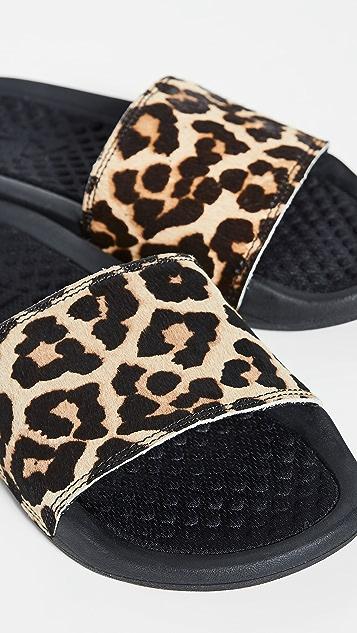 APL: Athletic Propulsion Labs Легендарные сандалии без застежки из телячьей кожи