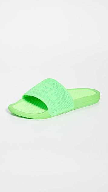 APL: Athletic Propulsion Labs Big Logo TechLoom Slide Sandals