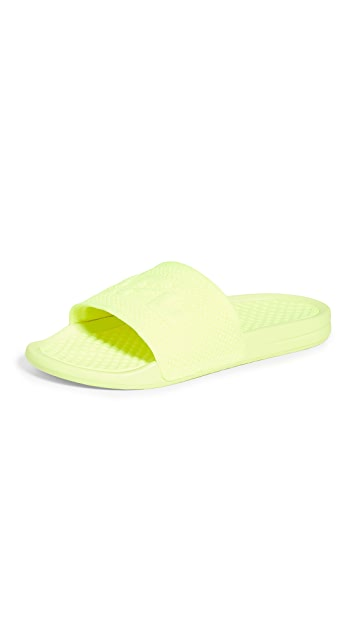 APL: Athletic Propulsion Labs Big Logo TechLoom Slide Sandals