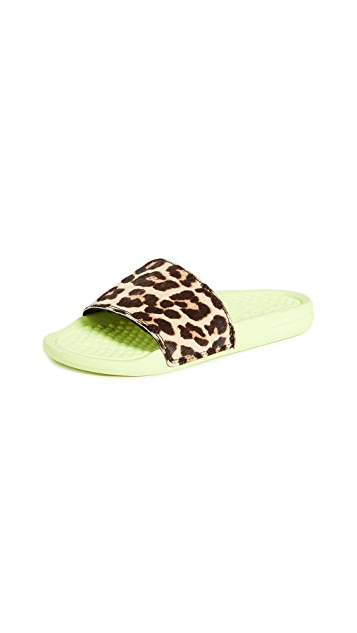 APL: Athletic Propulsion Labs Iconic Calf Hair Slides