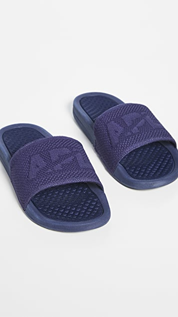 APL: Athletic Propulsion Labs Big Logo TechLoom Slides