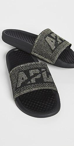 APL: Athletic Propulsion Labs - Big Logo TechLoom Slides