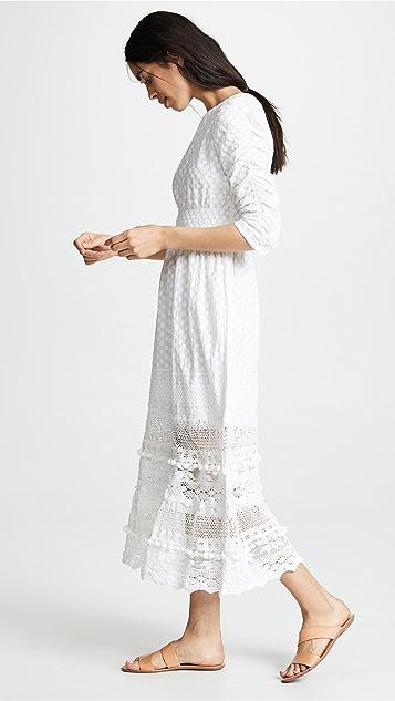 Place Nationale Макси-платье Saint Angel Prairie