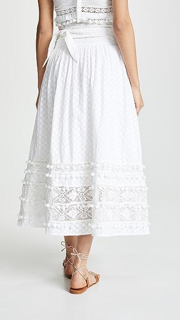 Place Nationale Florent Maxi Skirt