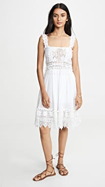 Le Cimon Lace Mini Dress