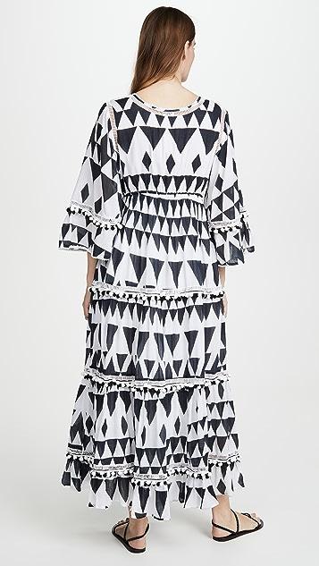 Place Nationale La Flute Coverup Maxi Dress