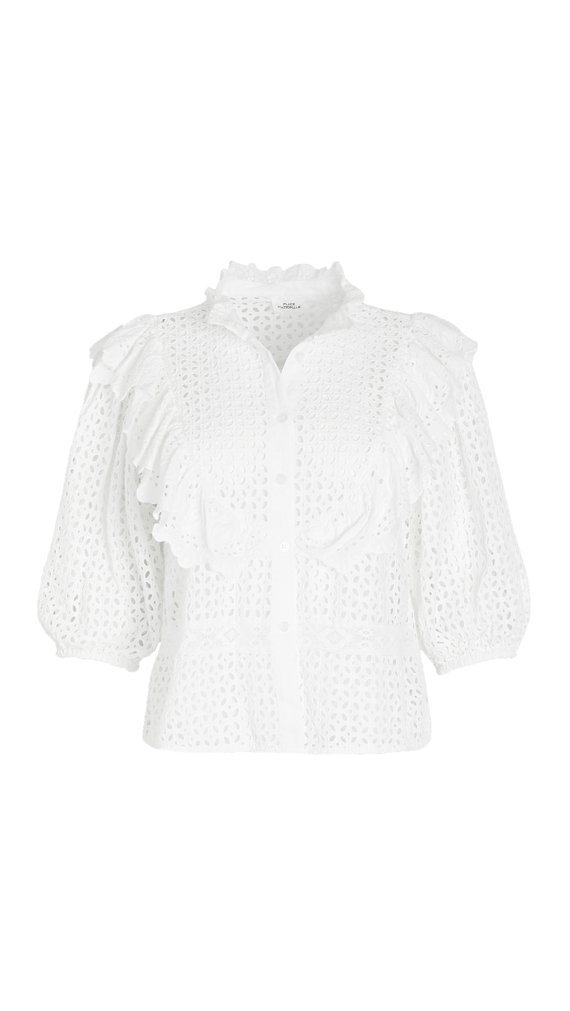 Place Nationale La Berté Bib Blouse