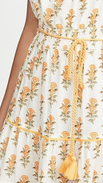 Playa Lucila Sleeveless Floral Maxi Dress