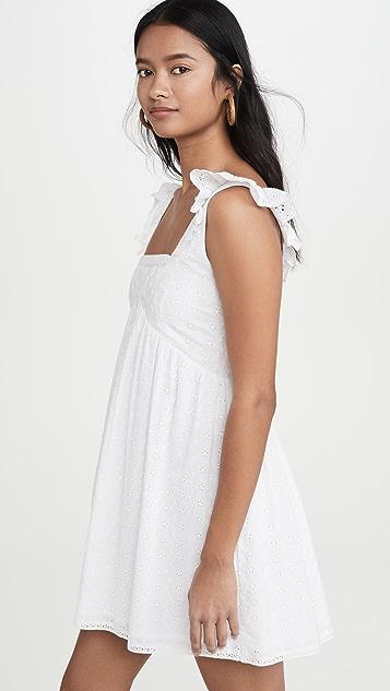 Playa Lucila Eyelet Dress