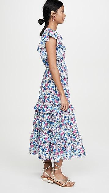 Playa Lucila Платье с цветочным рисунком