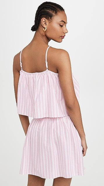 Playa Lucila Stripe Mini Dress