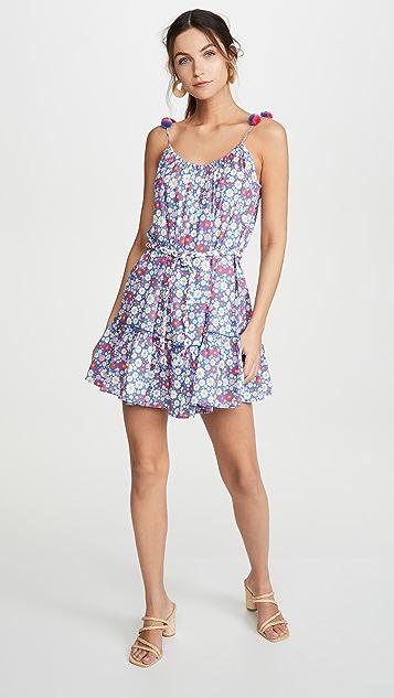 Playa Lucila 短款花朵连衣裙