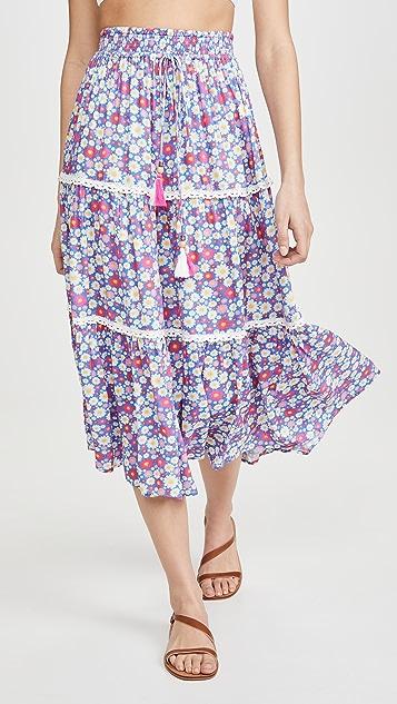 Playa Lucila 印花半身裙