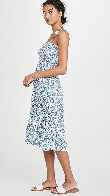 Playa Lucila Миди-платье без рукавов