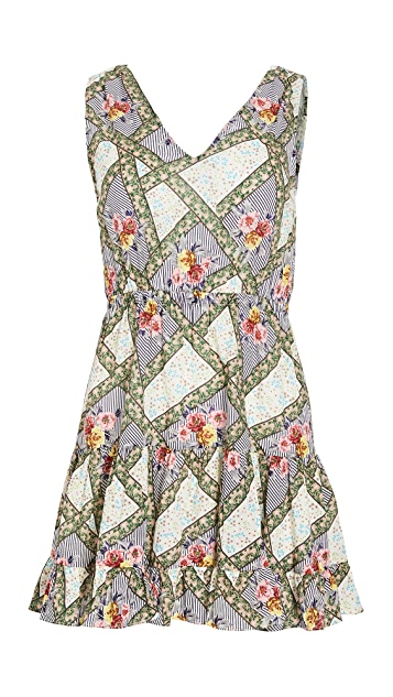 Playa Lucila Tie Shoulder Dress