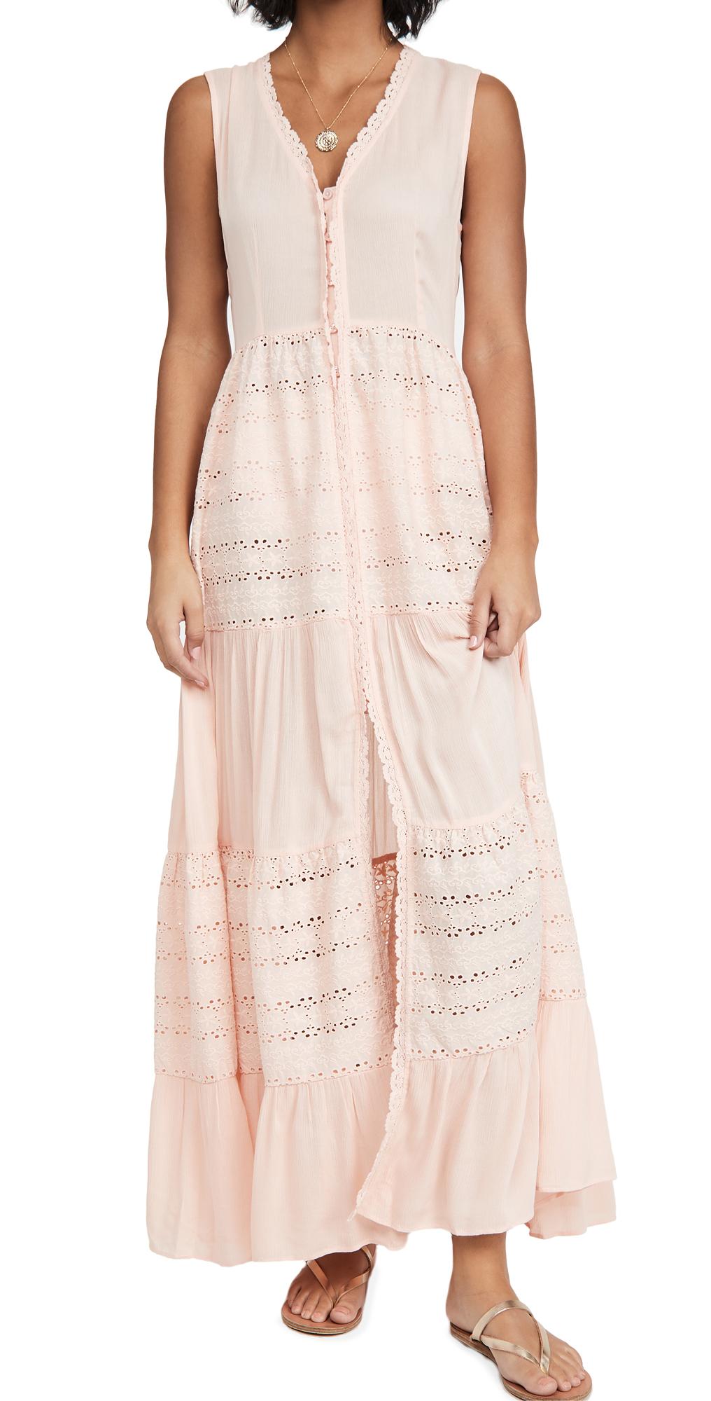 Playa Lucila Eyelet Cover Up Dress