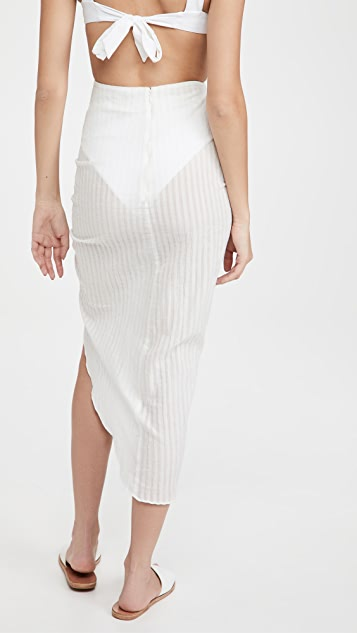 Playa Lucila Asymmetrical Skirt