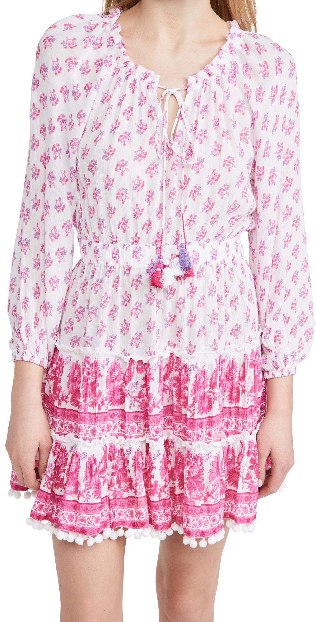 Playa Lucila Long Sleeve Minidress
