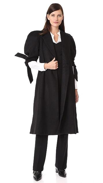 PAPER London Jet Wool Coat