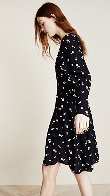 PAPER London Flora Daisy Print Dress