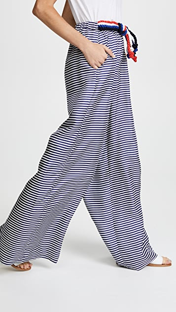 PAPER London Nevis Silk Trousers