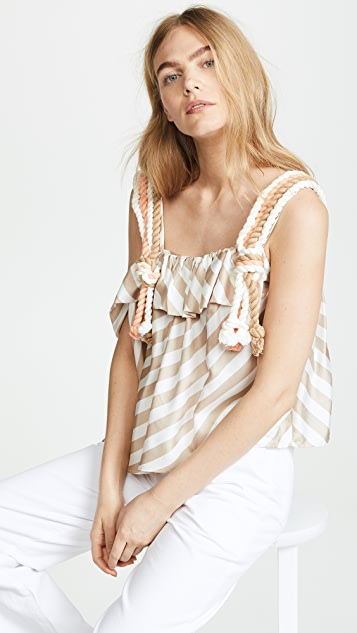 PAPER London Flute Top