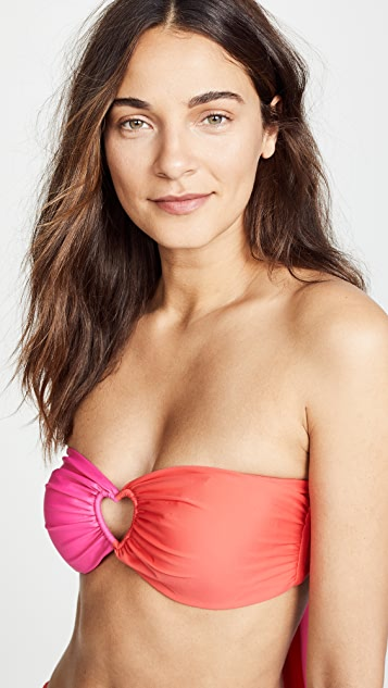 PAPER London Florentine Bikini Top