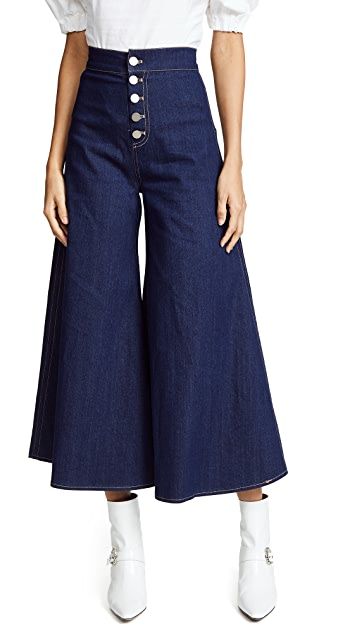 PAPER London Kelly Cropped Trousers