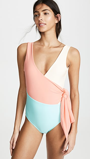 PAPER London Copacabana Coral Coast Swimsuit