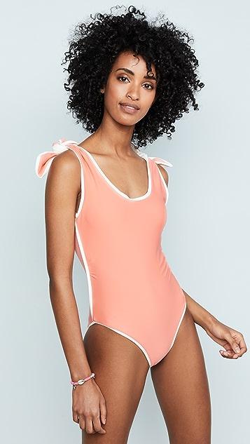 PAPER London Ricki Baker Coral Coast Swimsuit