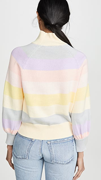 PAPER London Dahlia Stripe Sweater